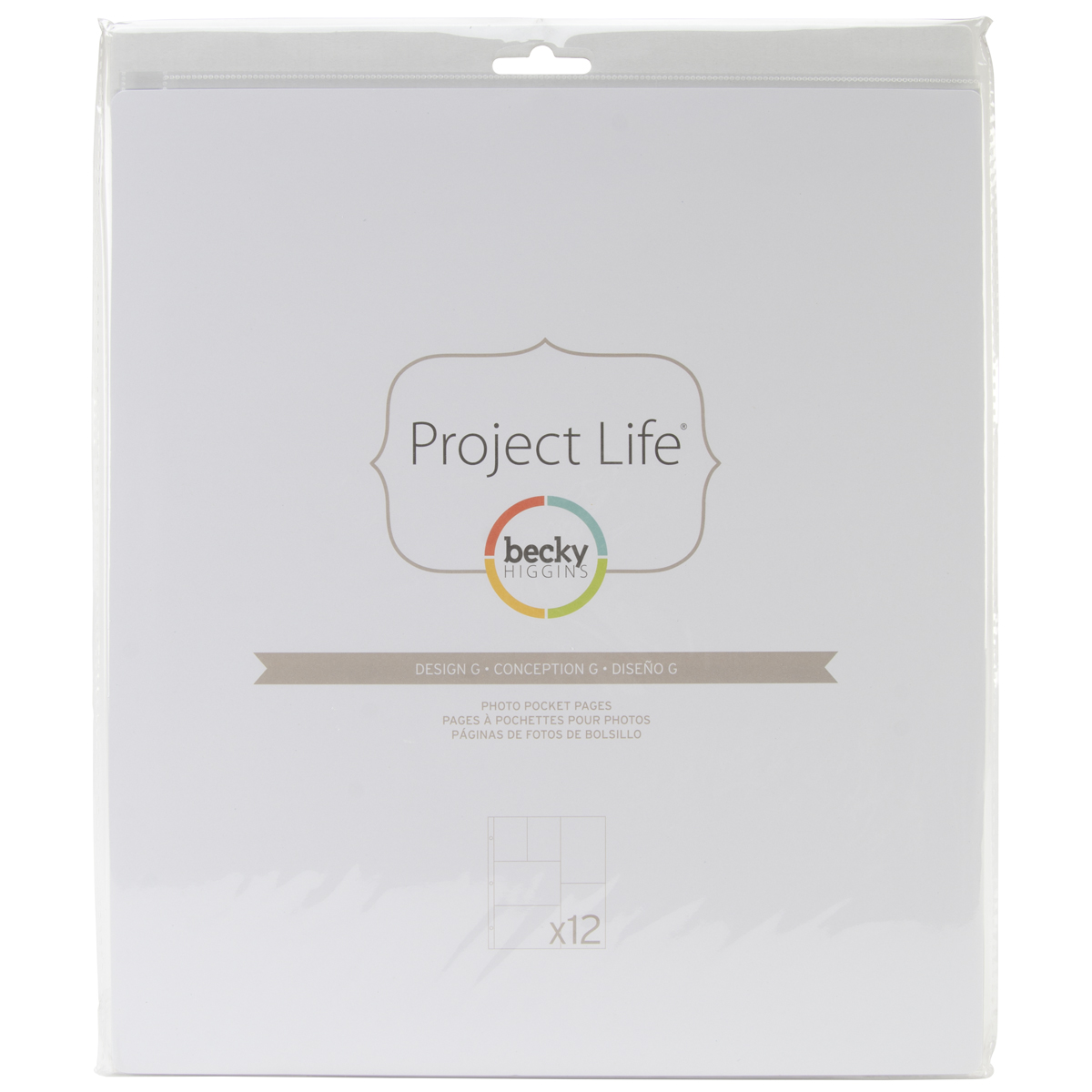 Project Life Photo Pocket Pages 12/Pkg-Design G
