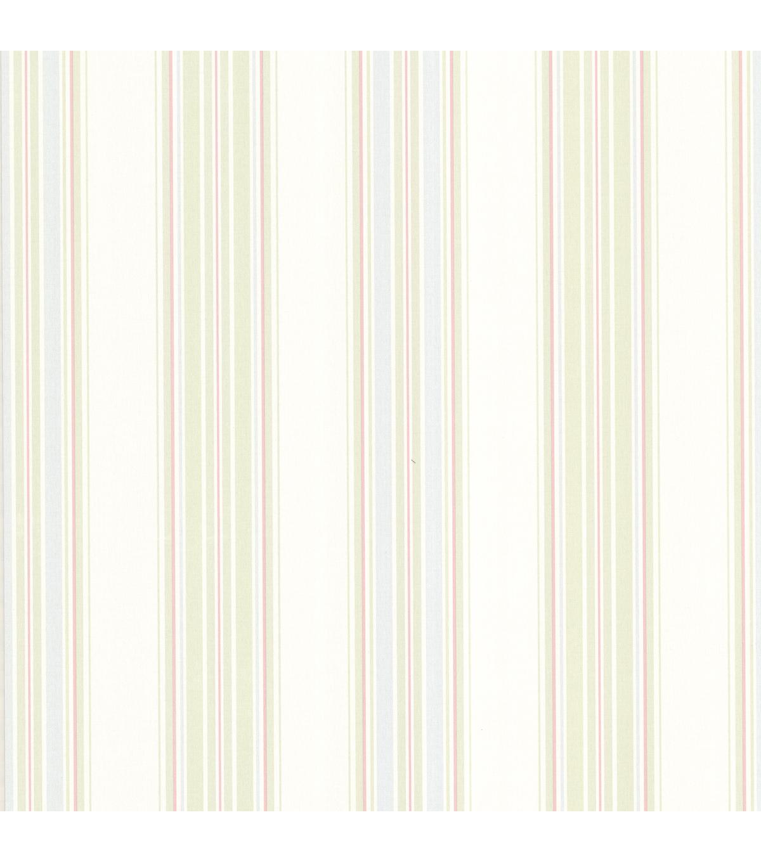 Manor Stripe Pastel Stripes Wallpaper