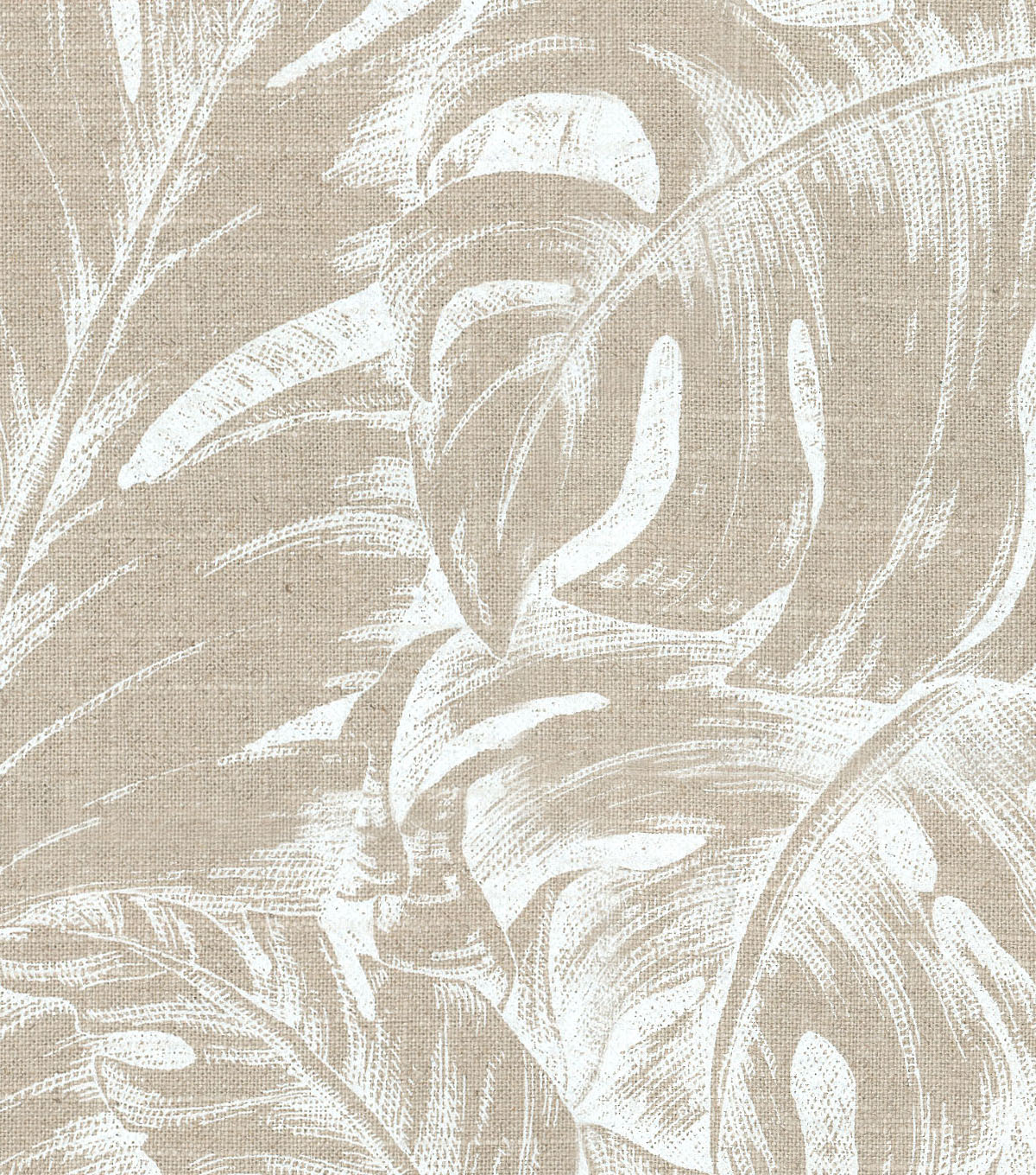 Tommy Bahama Upholstery Fabric 13x13\u0022 Swatch-Jungle Love Circa Dove