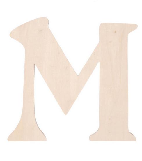 Darice 7 Fancy Wood Letters Many Letters