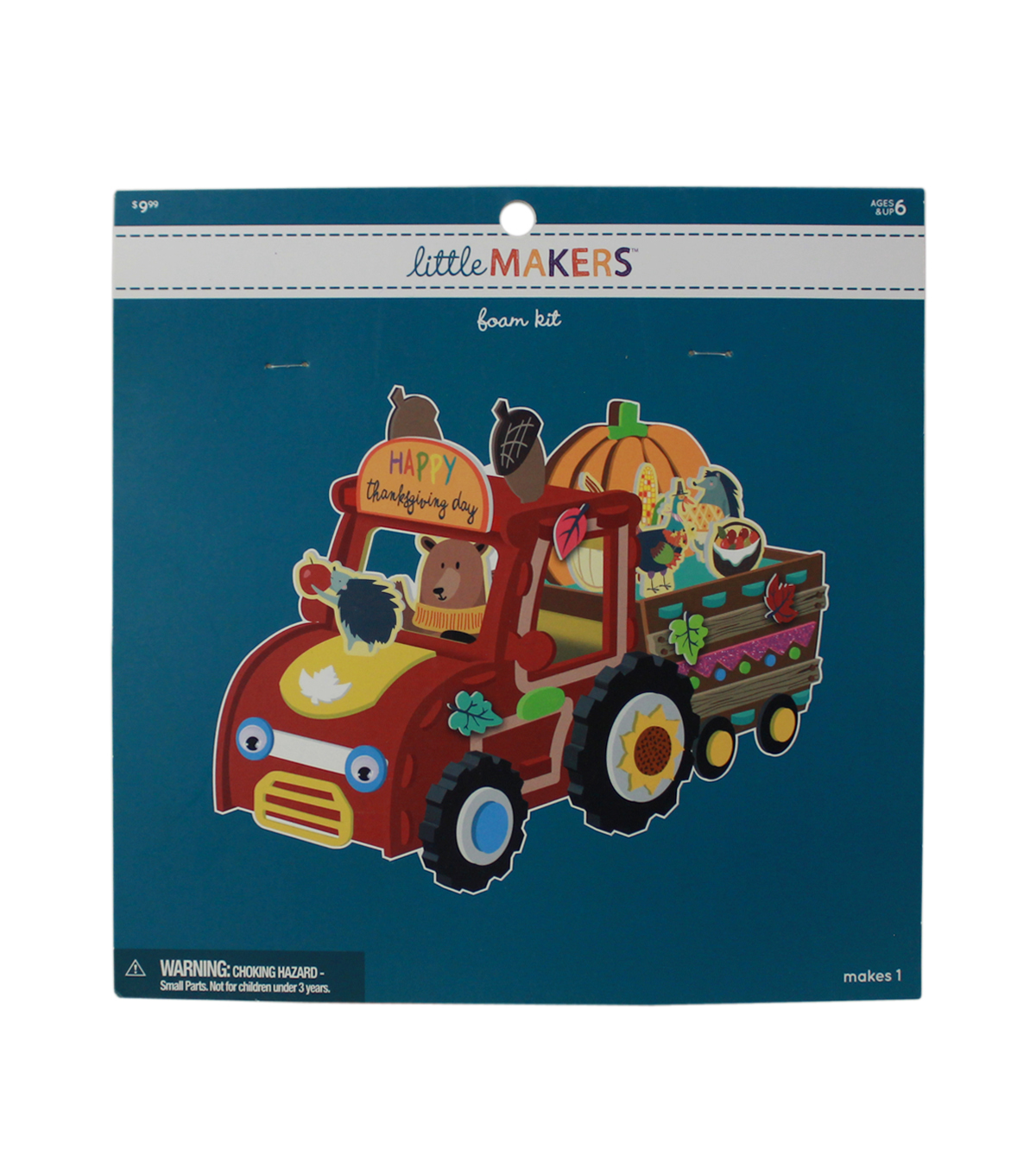 Little Makers Thanksgiving Structure Foam Kit-Fall Truck