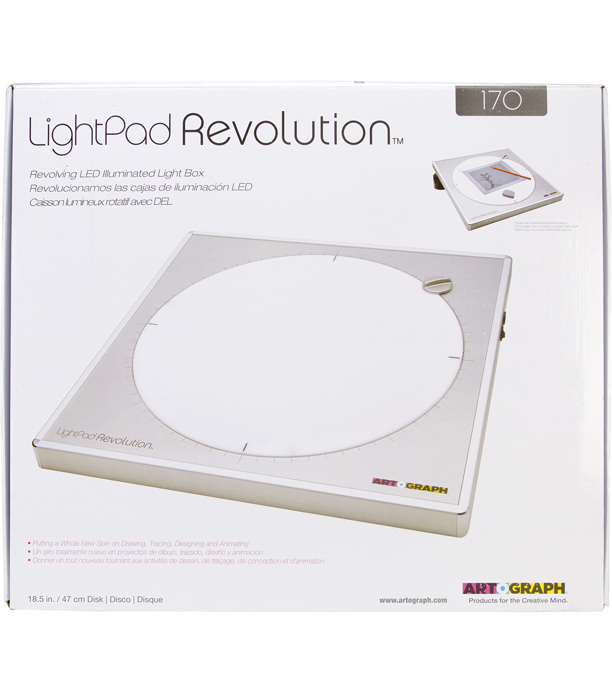 Artograph LightPad Revolution 170 LED Light Box