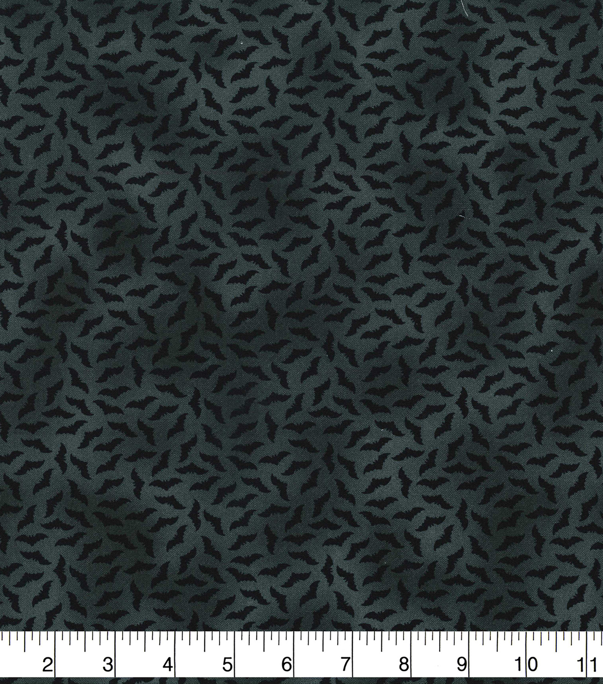Halloween Cotton Fabric-Mini Black Bats