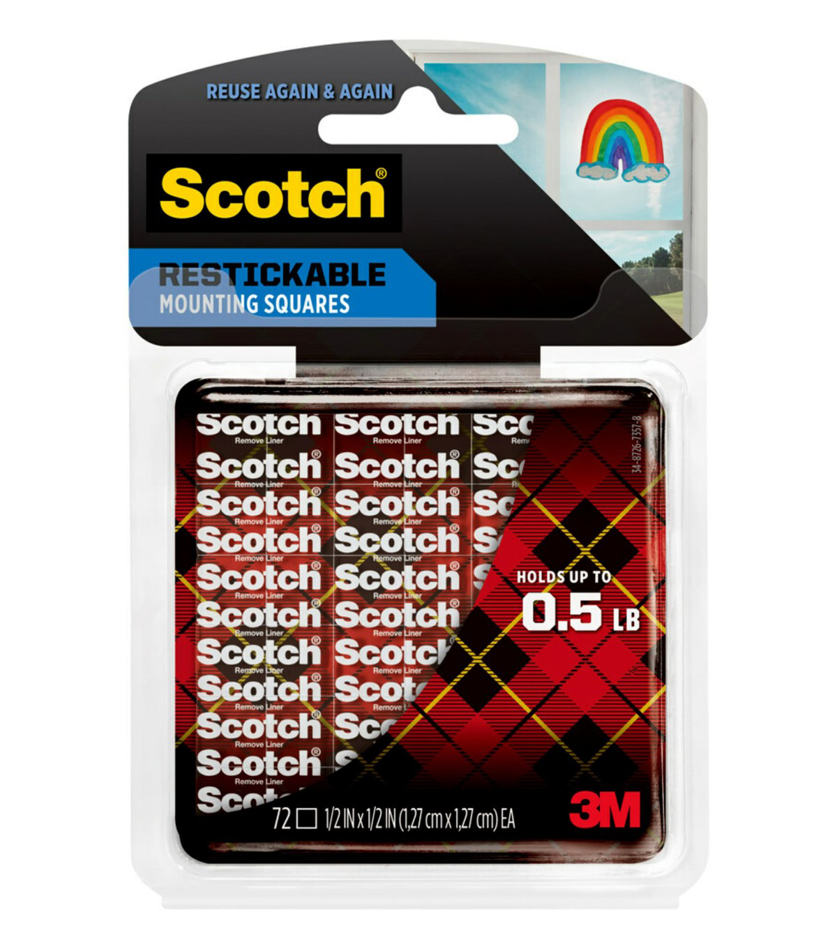 Scotch Reusable Mini-Tabs