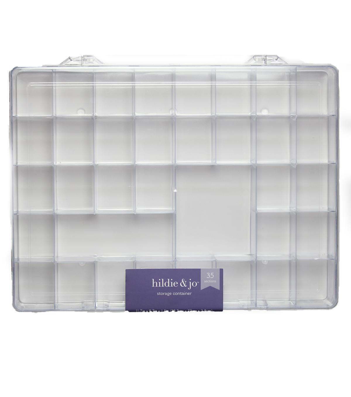 Darice Plastic Storage Box With 35 Compartment  sc 1 st  Joann & Storage 11-3/4