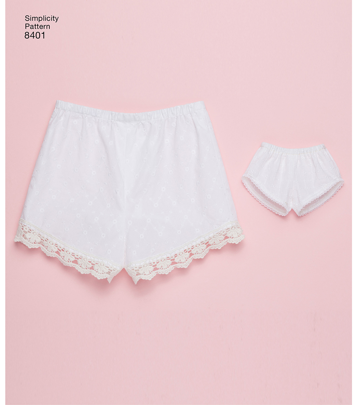Simplicity Pattern 8401 Children\u0027s/Girls\u0027 Shorts-Size HH (3-4-5-6)