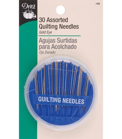 Dritz Assorted Quilting Needles 30pcs