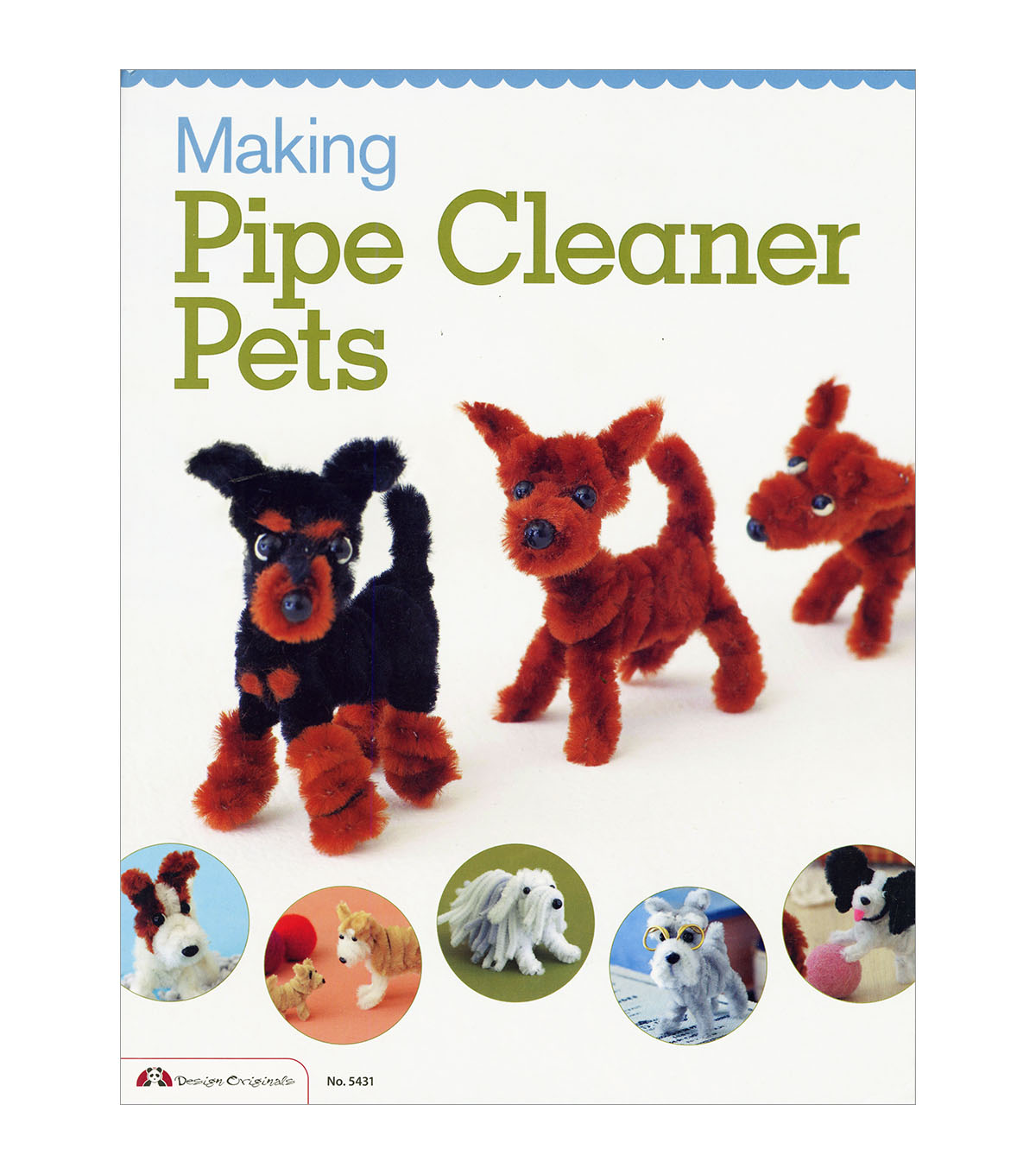 Making Pipe Cleaner Pets Book