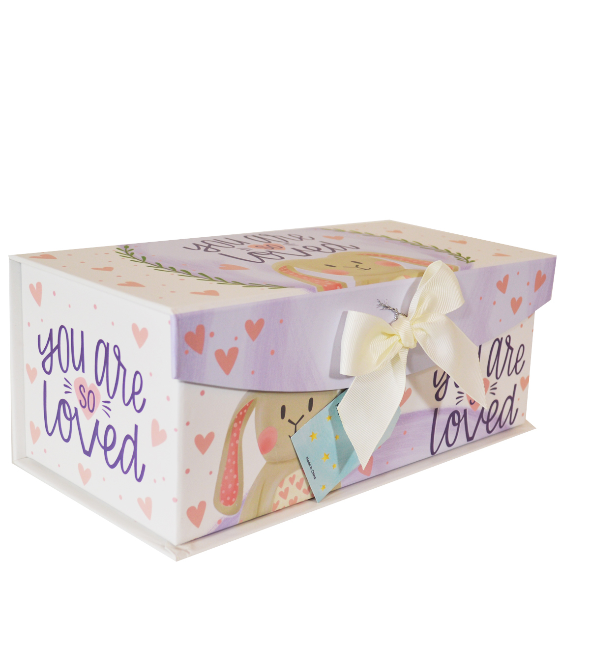 Organizing Essentials Medium Fliptop Storage Box-Sweet Baby