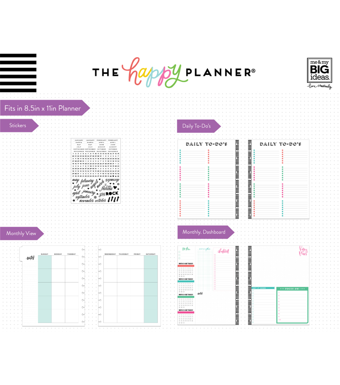 The Happy Planner Big Extension Pack Monthly Joann Mystore365com Meter6013capacitancecapacitortesterincircuithtml