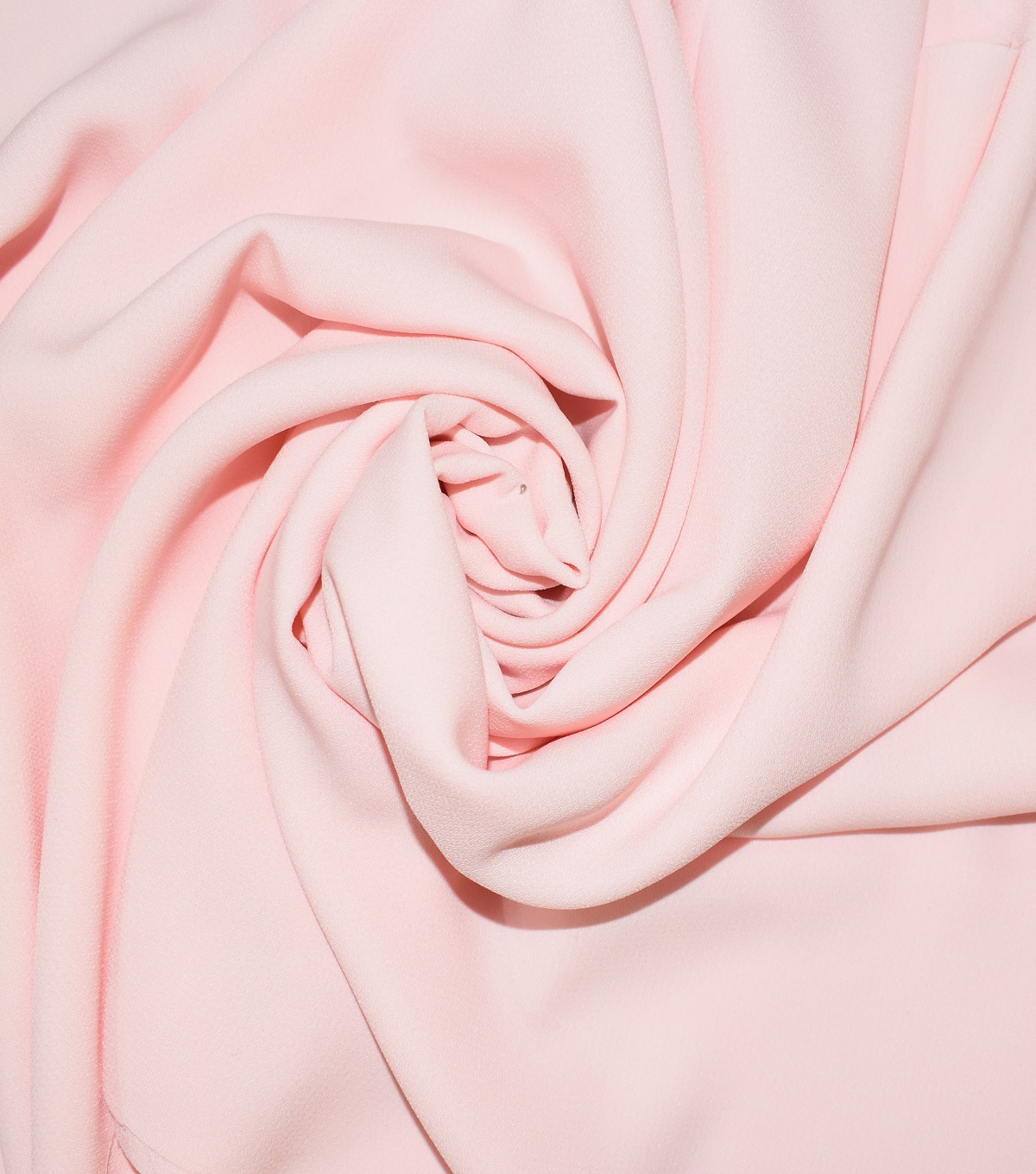 Casa Dahlia Slub Georgette Fabric-Solids