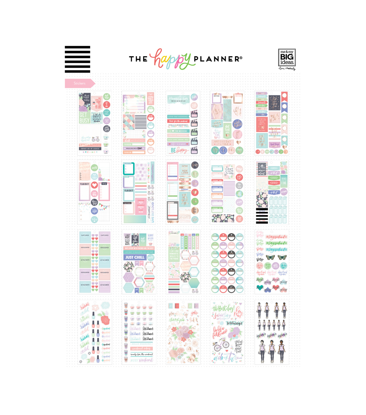 The Happy Planner Girls Accessory Book-Day Dreamer