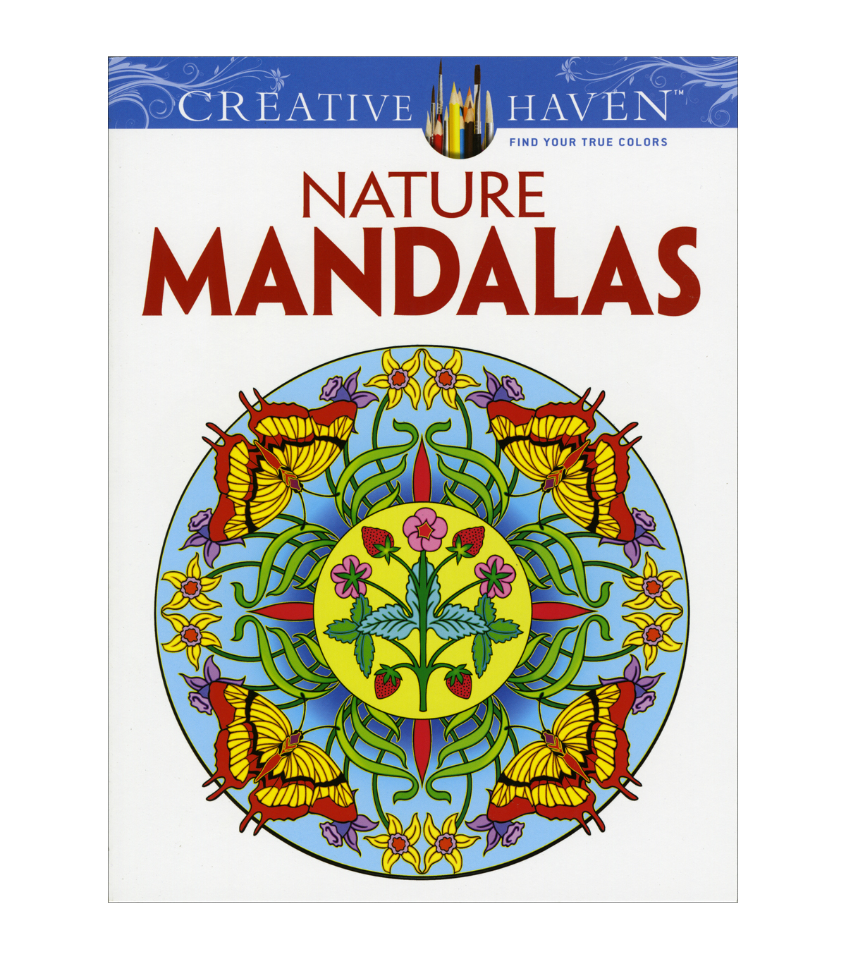 Dover Creative Haven Nature Mandalas Coloring Book
