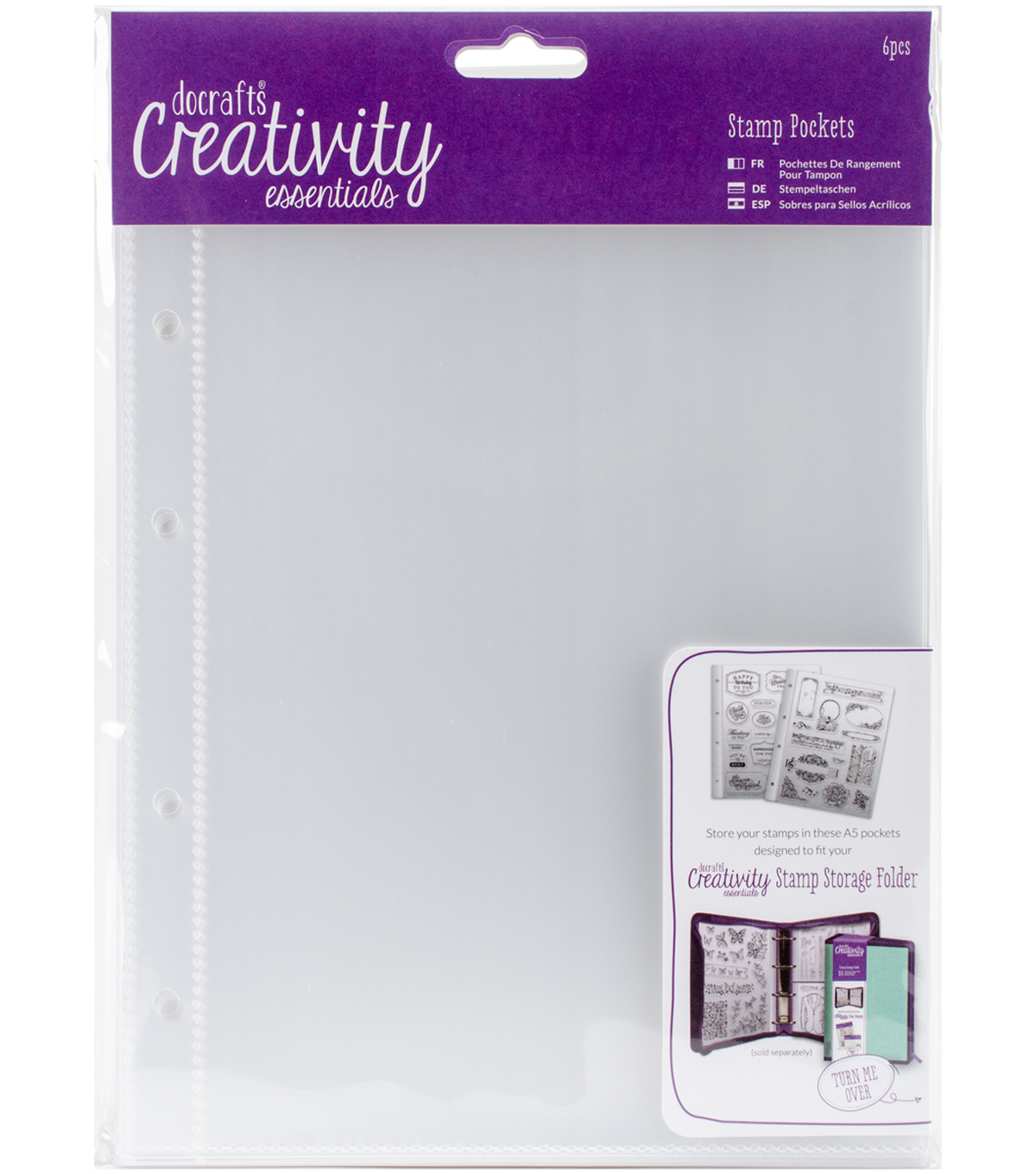 Creativity Essentials A5 Stamp Pockets