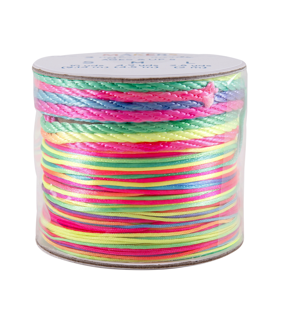 Little Makers Cording Set 17.7 yds-Rainbow Mix