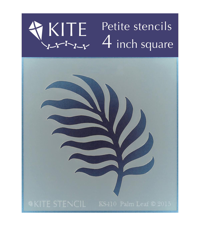 JudiKins 6-inch Square Kite Stencil-Deco Palms