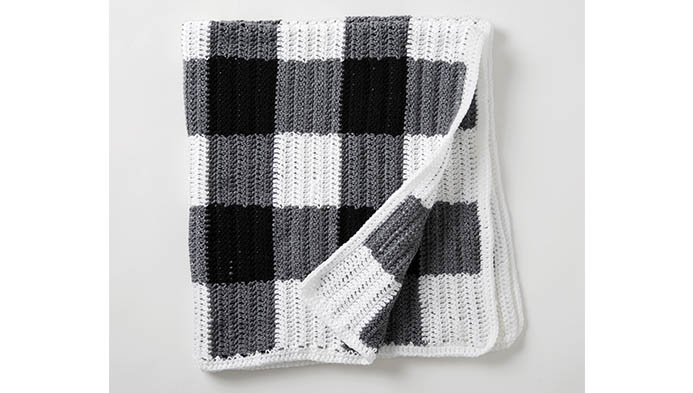 Buffalo Check Crochet