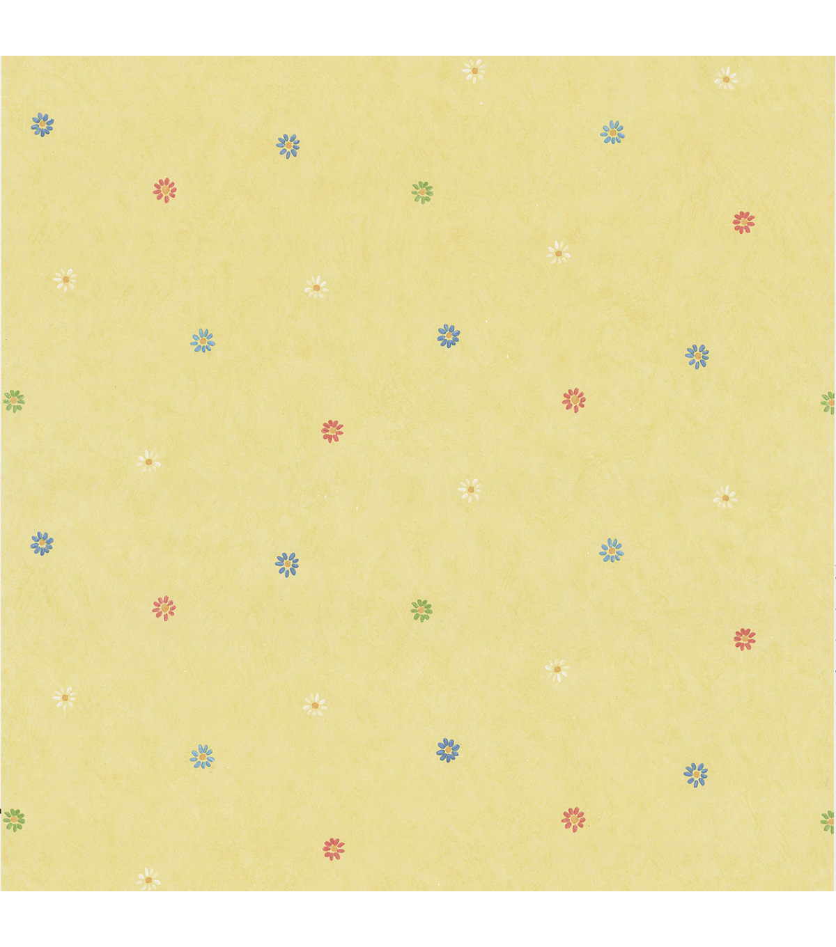 Abby Lee Yellow Flowers Wallpaper Sample