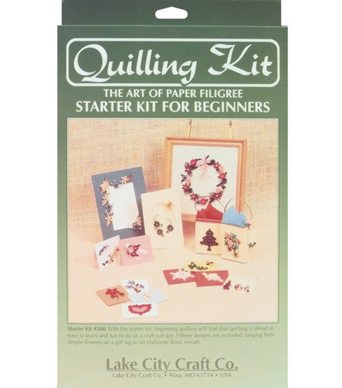 Quilling Beginners Starter Kit