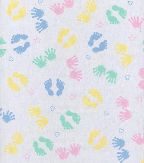 Snuggle Flannel Fabric Hand Feet