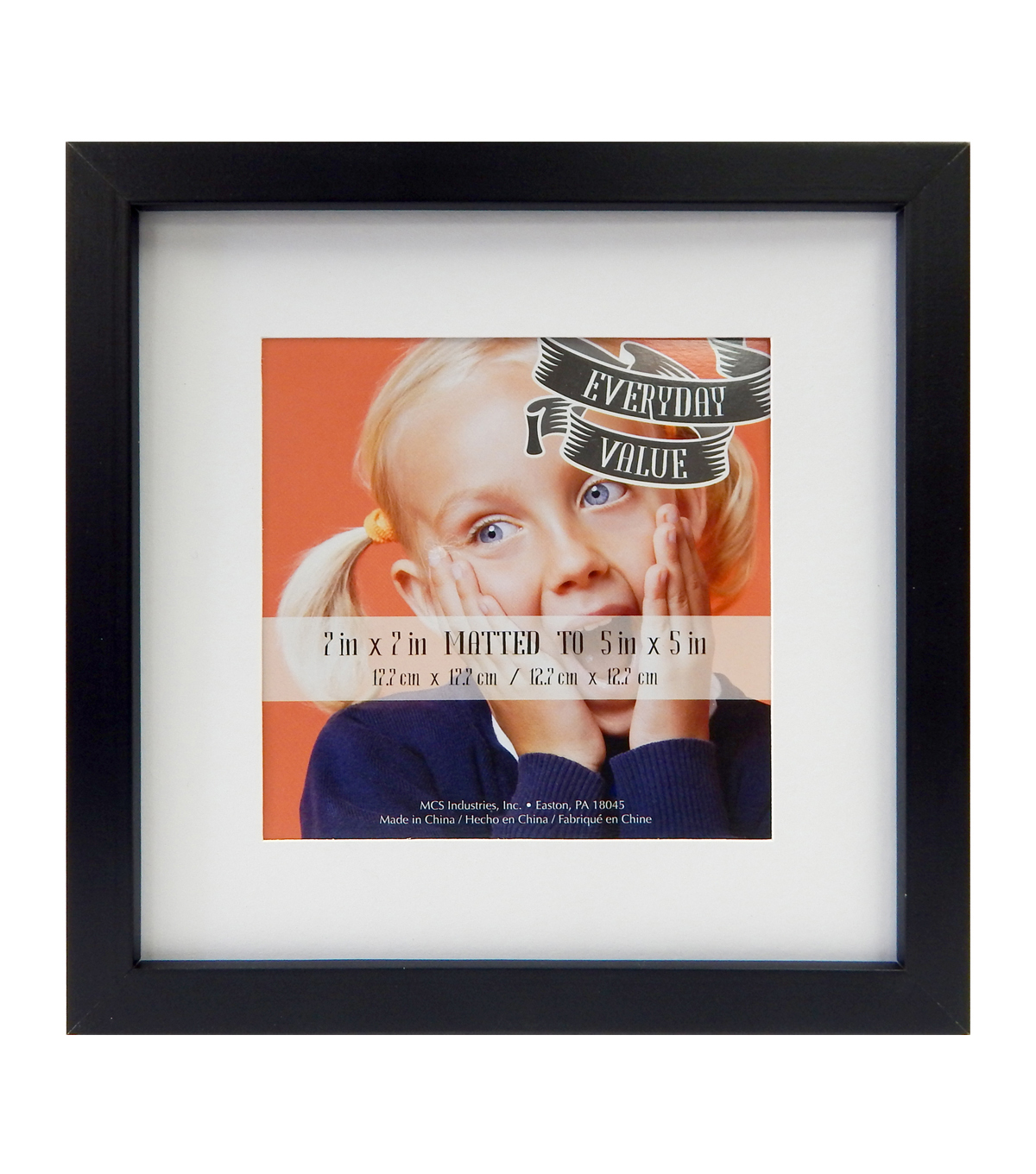 Tabletop Frame 7x7 Black Joann