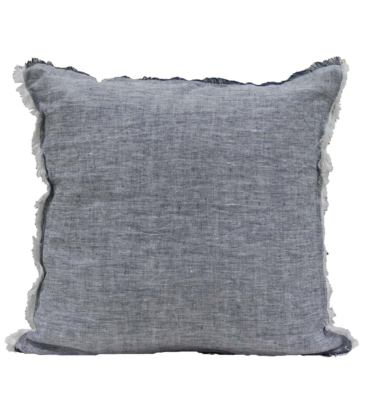 Camp Ann 18\u0027\u0027x18\u0027\u0027 Linen Pillow-Blue