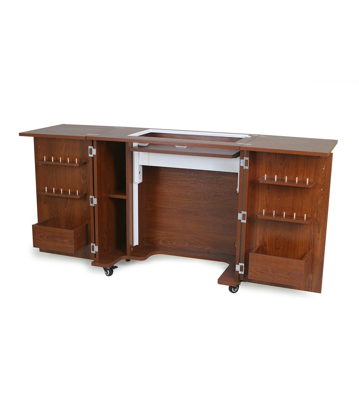 Bandicoot Teak Sewing Cabinet