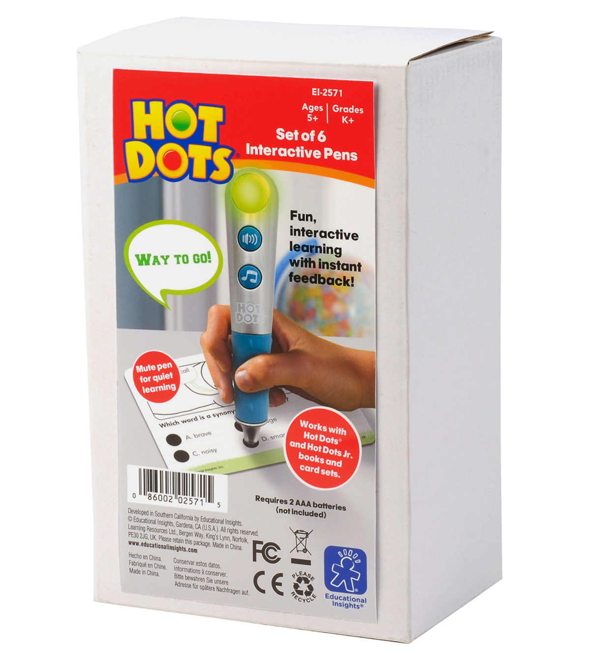 Hot Dots Talking Pen, Set of 6