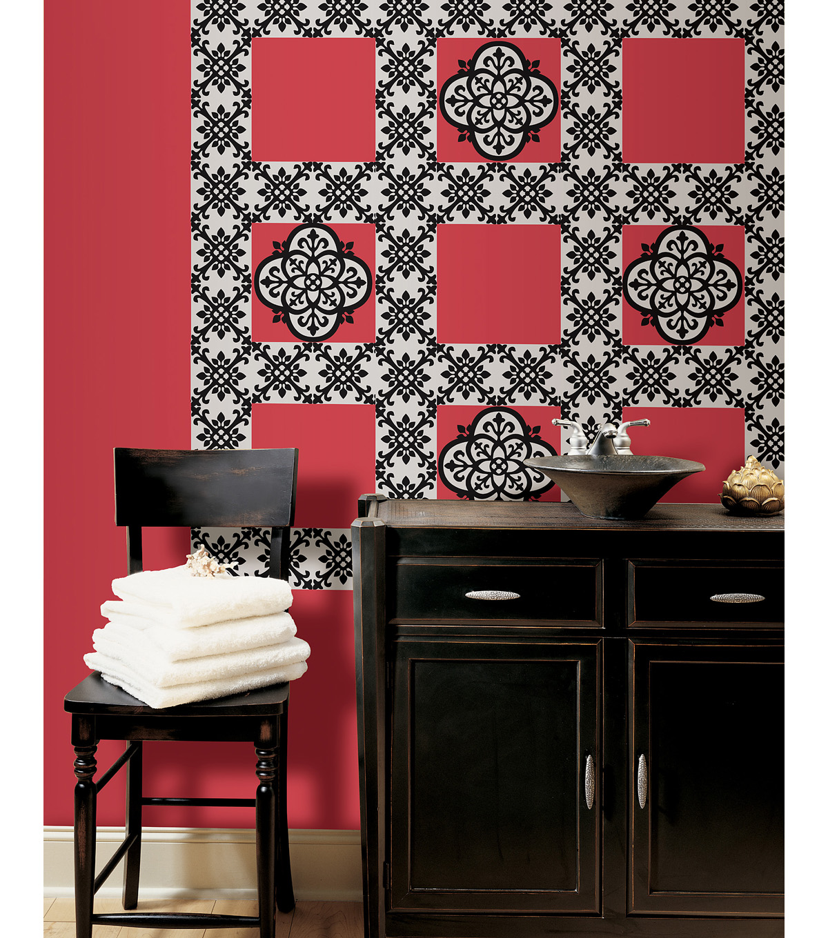 Wall Pops Tangier Stripe Decals, 32 Feet