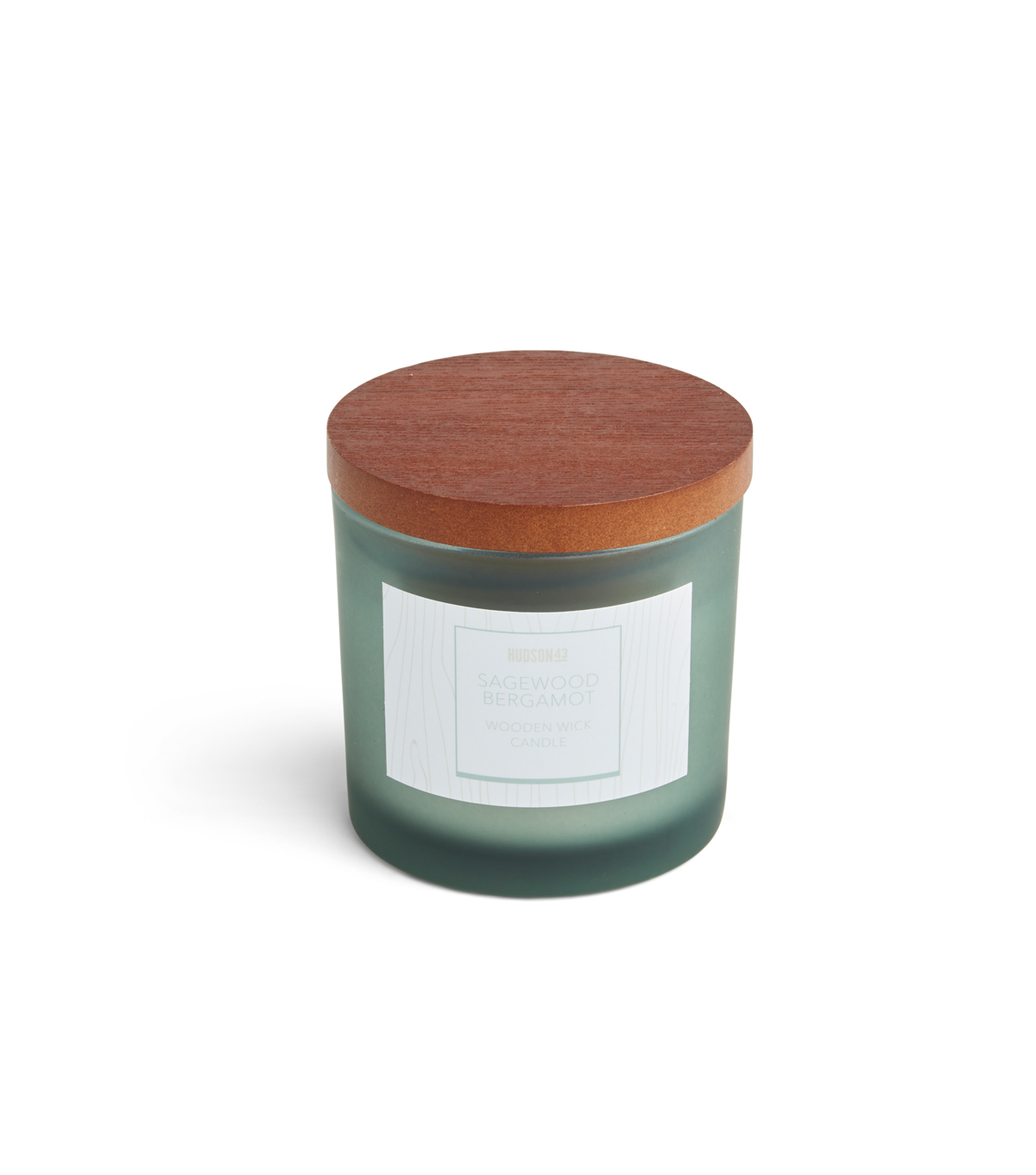 Haven St. 5oz Wooden Wick Jar Candle-Sagewood Bergamot