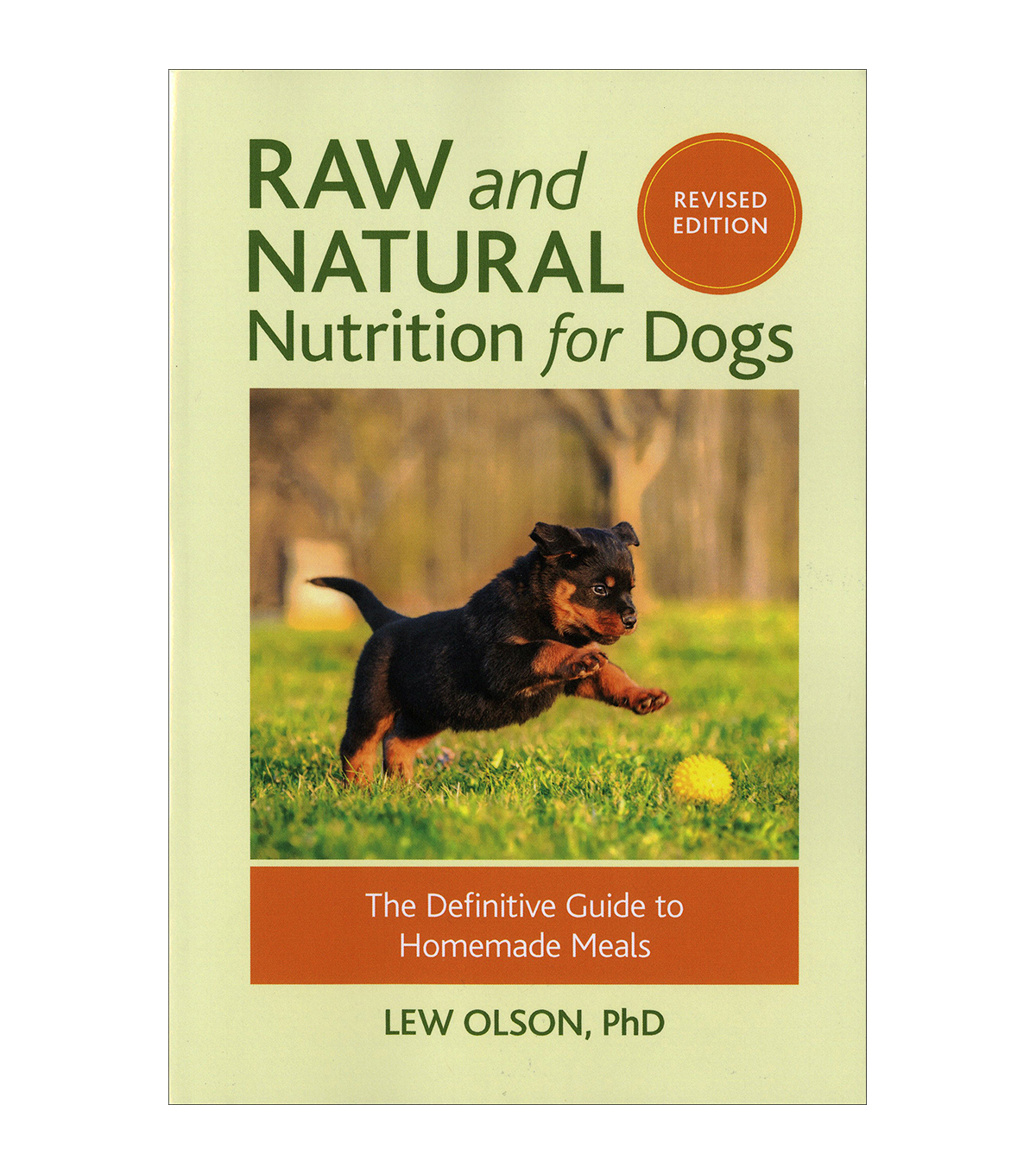 Lew Olson Raw & Natural Nutrition For Dogs Book