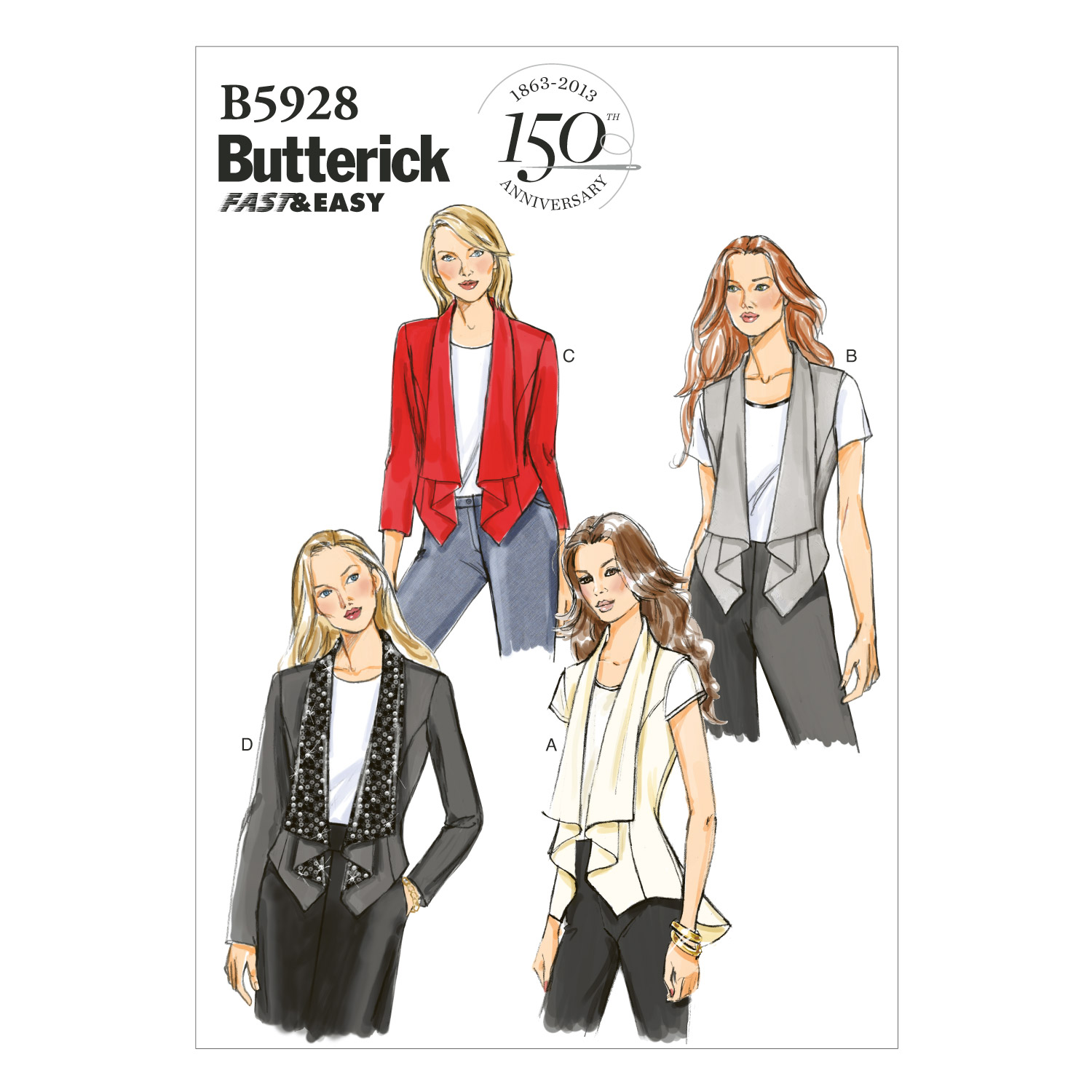 Butterick Misses Jacket-B5928