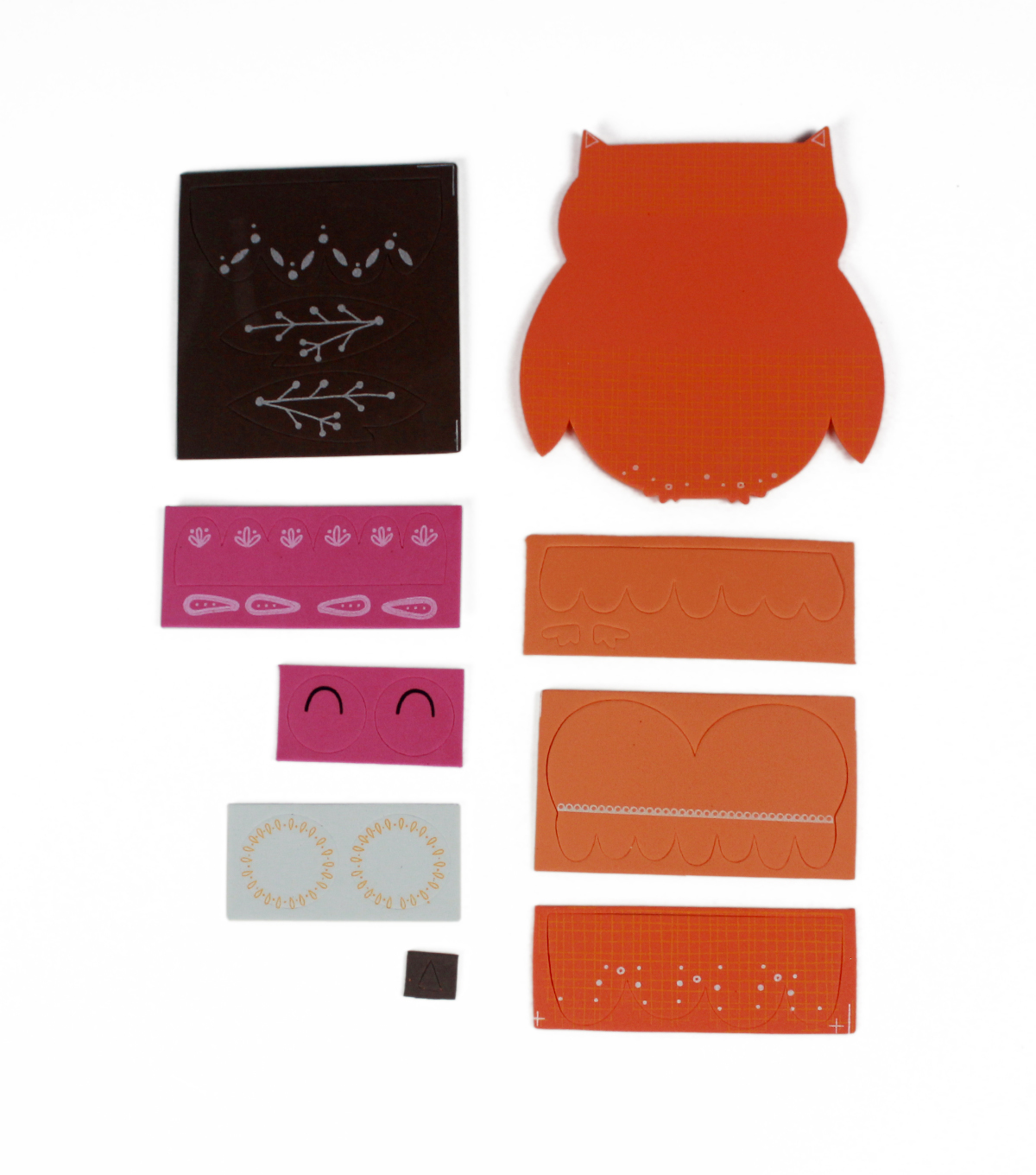 Little Makers Thanksgiving Foam Kit-Owl