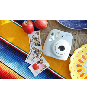 Fujifilm Instax Mini 8 Instant Camera, White