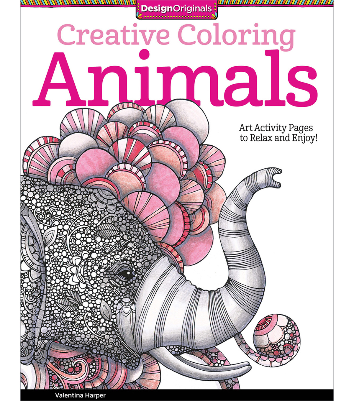 Adult Coloring Book-Creative Coloring Animals