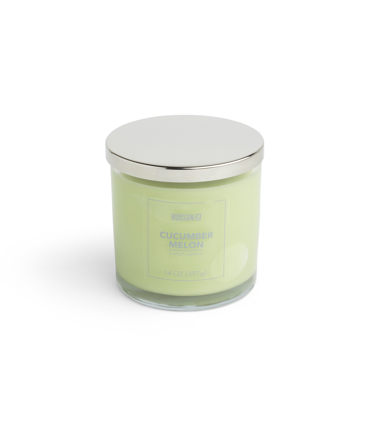 Hudson 43 Candle & Light 14 oz. Cucumber Melon Scented Jar Candle
