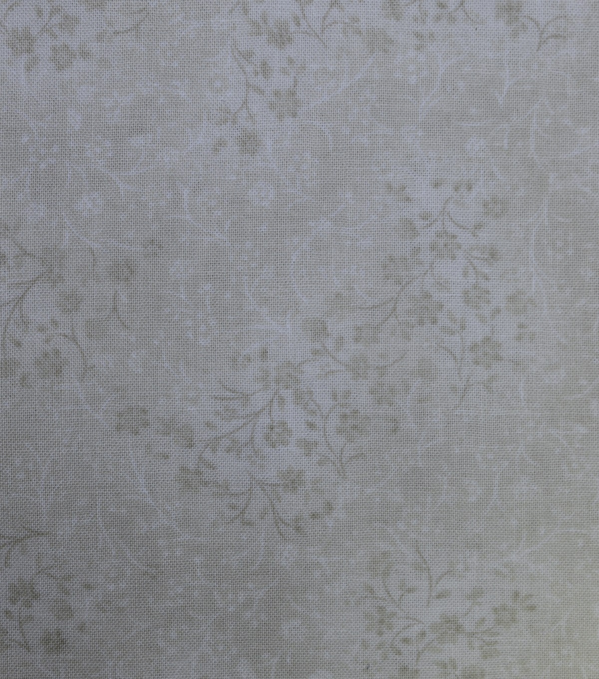 Premium Wide Cotton Fabric 108\u0022-Delicate Floral Cream