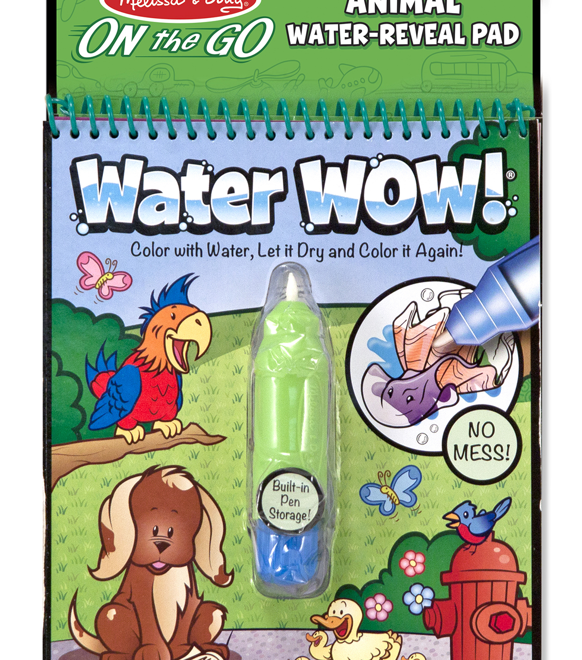 Melissa Doug On The Go Water Wow Animals