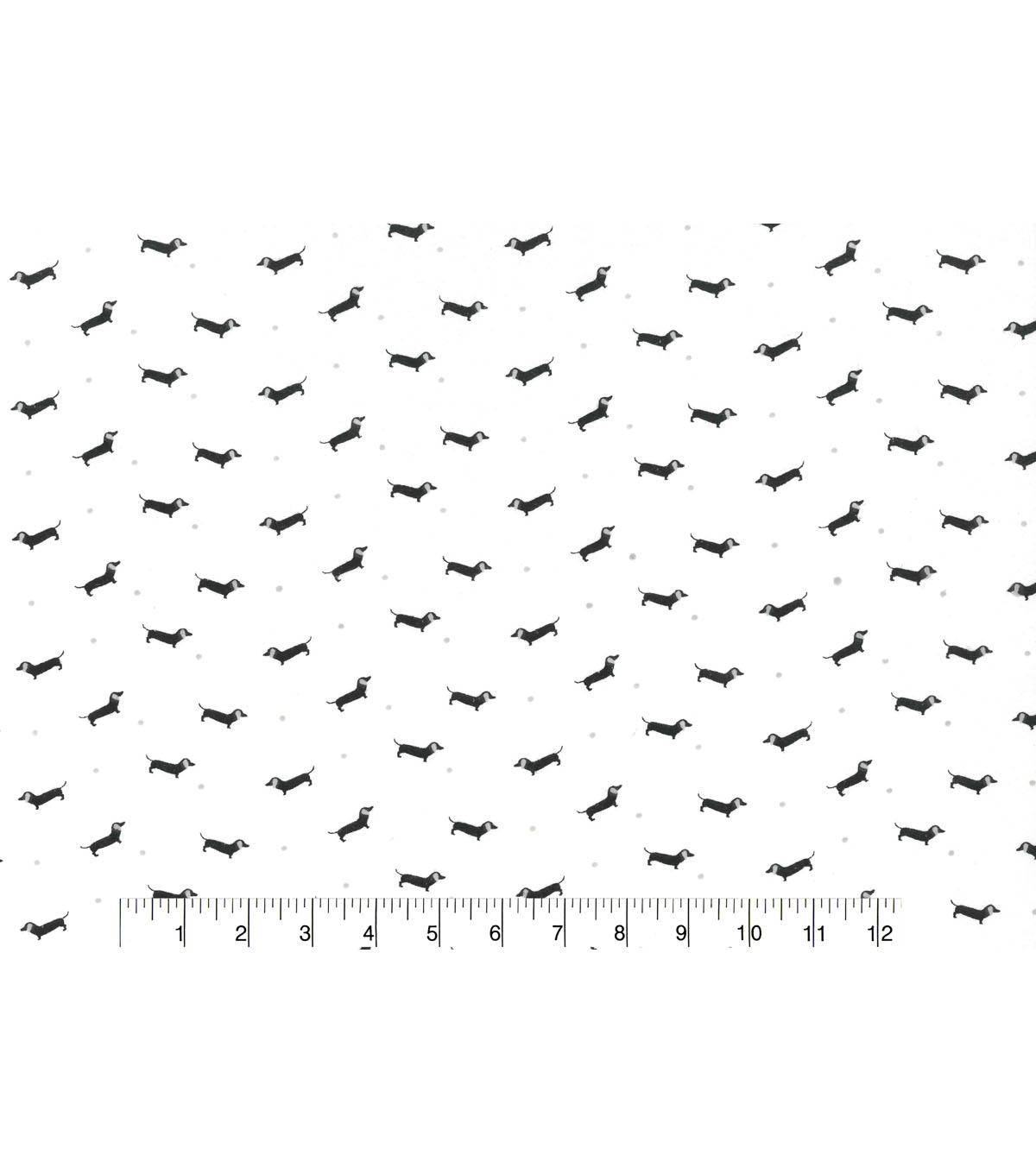 Wide Flannel Fabric -Swank Pups
