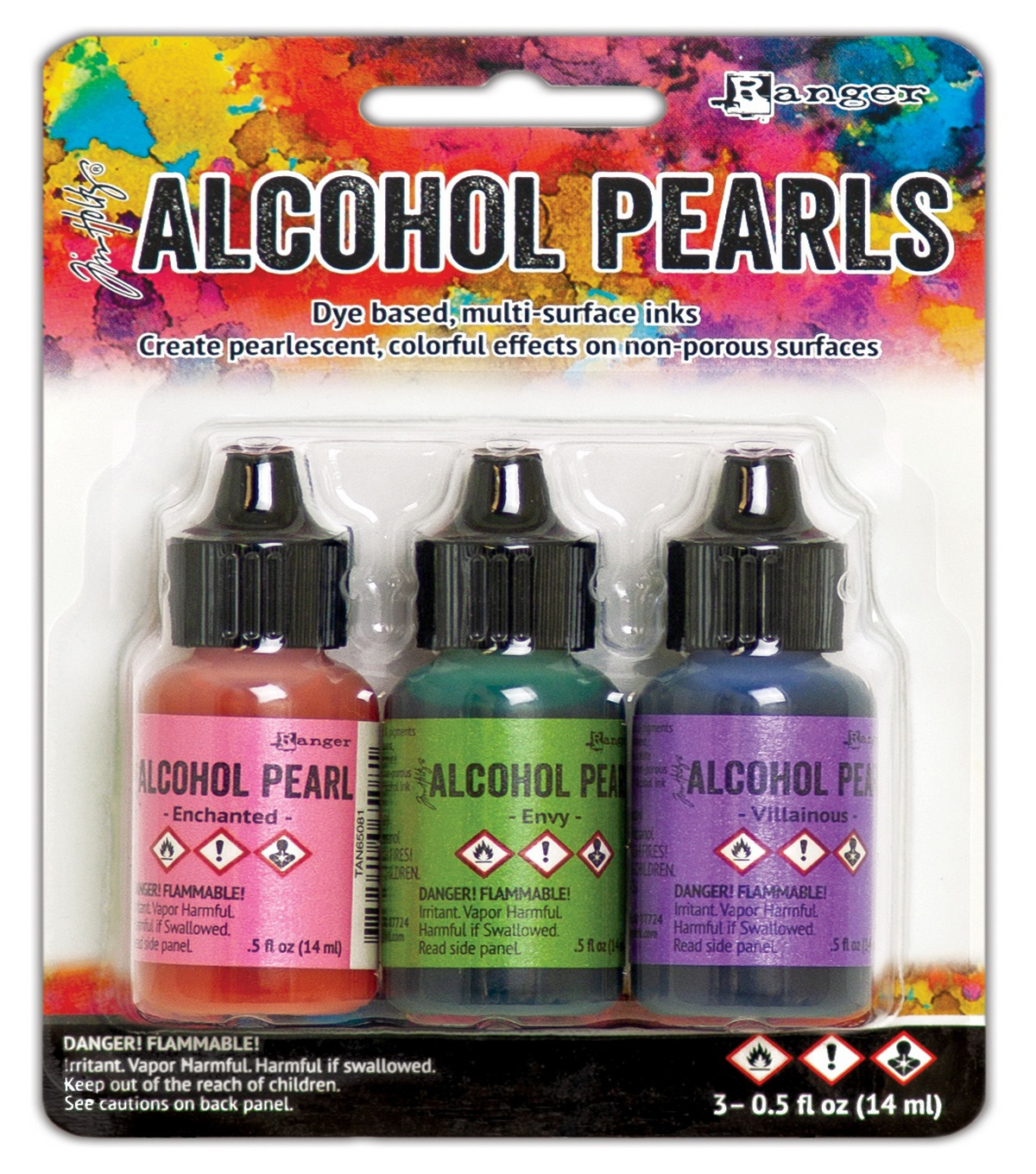 Tim Holtz Alcohol Pearls Kit 3