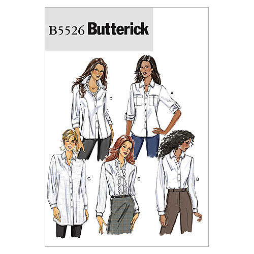 Butterick Misses Top-B5526