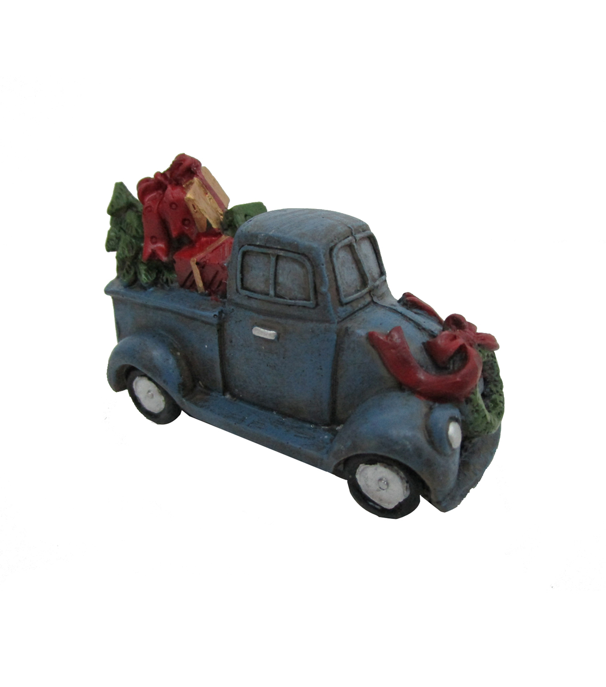 Maker\u0027s Holiday Christmas Littles Blue Truck with Gifts