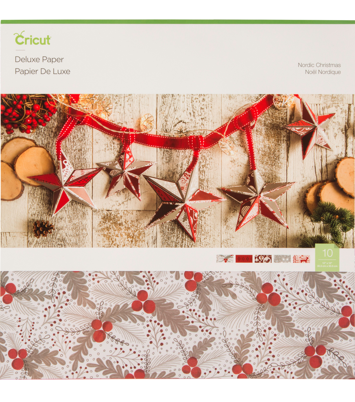 cricut deluxe paper nordic christmas - Nordic Christmas