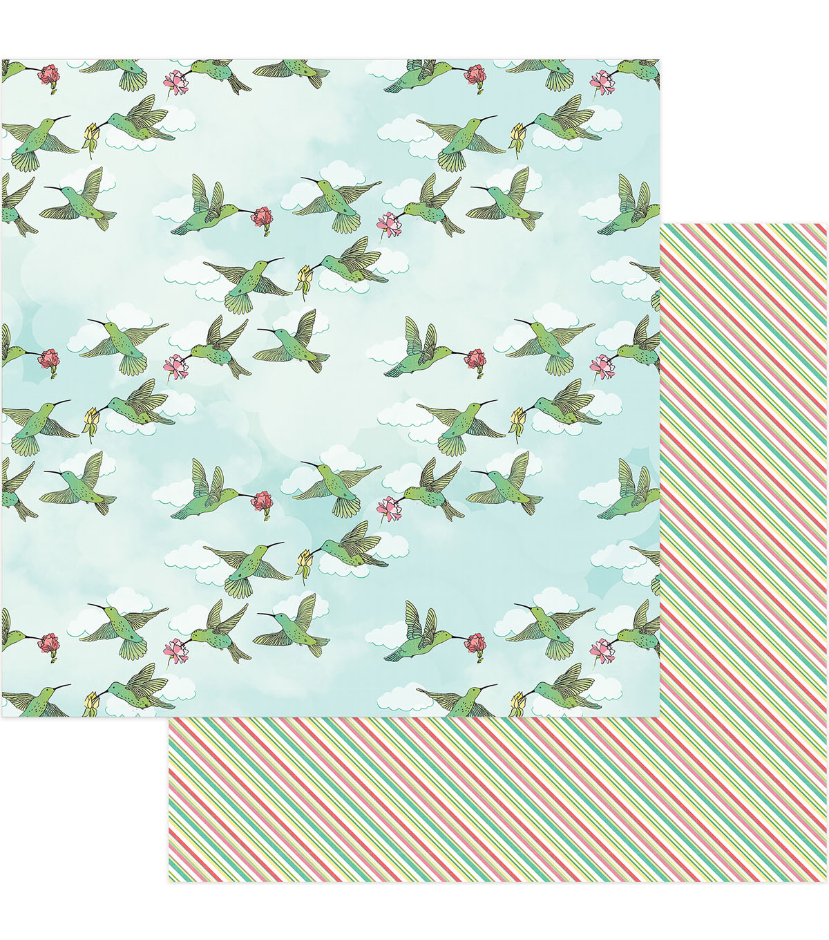 Photoplay Paper Spread Your Wings 12\u0027\u0027x12\u0027\u0027 Cardstock-Thrive