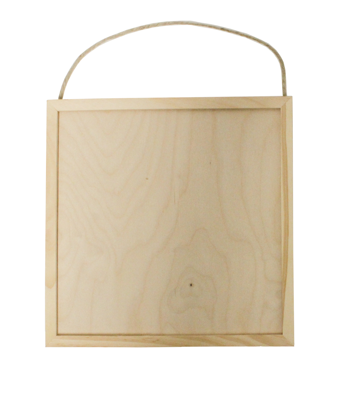 11X11\u0027\u0027 Framed Thin Square Wood