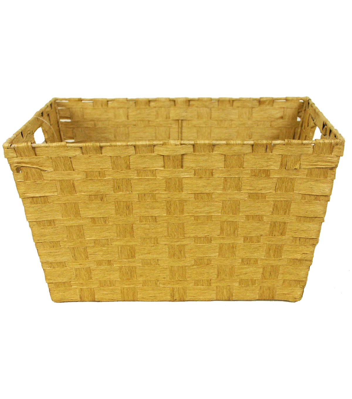 Organizing Essentials Paper Rope Large Taper Basket-Taupe