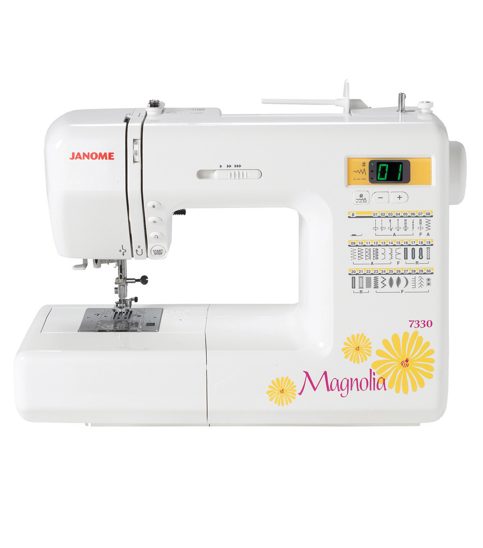 Janome Magnolia 7330 Computerized Sewing Machine Joann