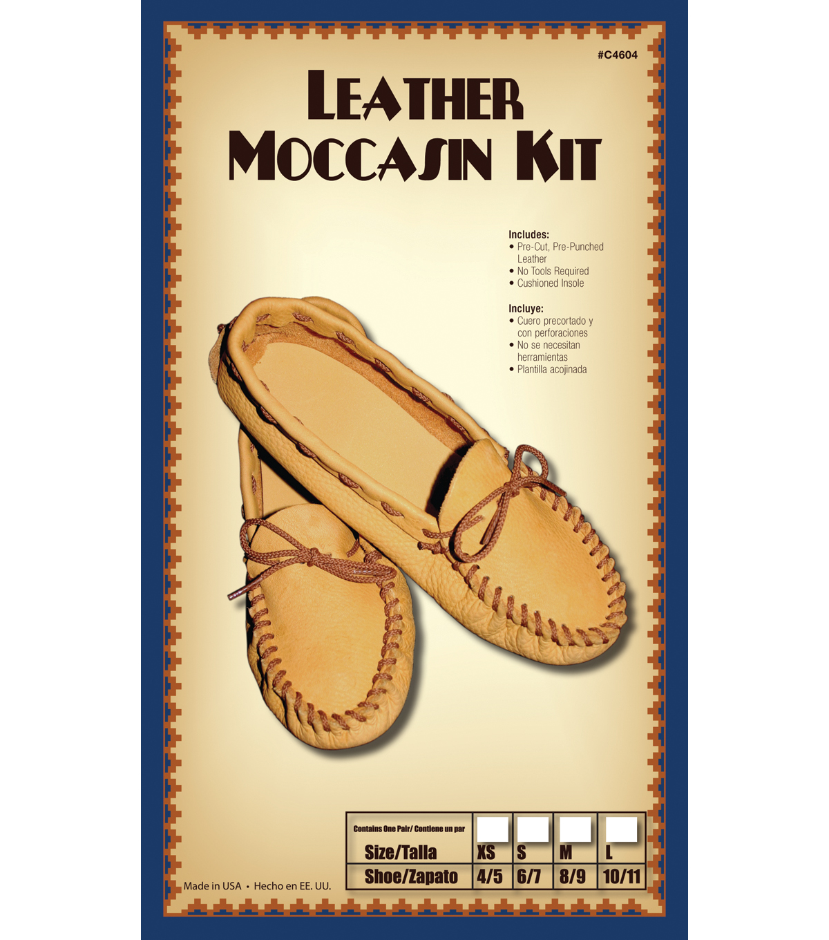 Moccasin Kit Size 6/7