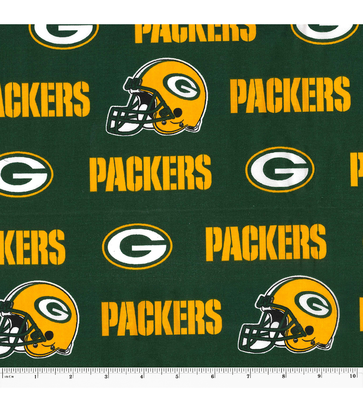Green Bay Packers Cotton Fabric 58 Green Joann