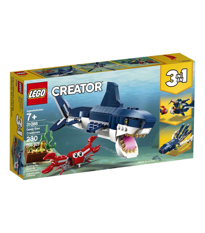lego creator 3 in 1 deep sea creatures set joann. Black Bedroom Furniture Sets. Home Design Ideas